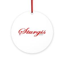 Sturgis '07 Ornament (Round)
