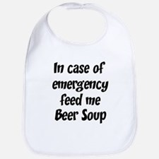 Feed me Beer Soup Bib