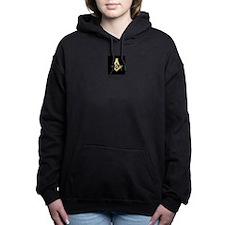 Black Masonic Hooded Sweatshirt