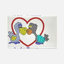 romantic dodo Rectangle Magnet (100 pack)