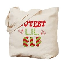 Cutest Lil Elf Tote Bag