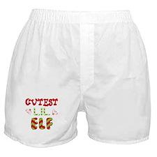 Cutest Lil Elf Boxer Shorts