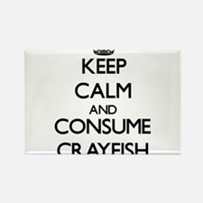 Keep calm and consume Crayfish Magnets