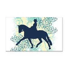 Cool Equine Rectangle Car Magnet