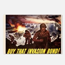 Buy That Invasion Bond Postcards (Package of 8)