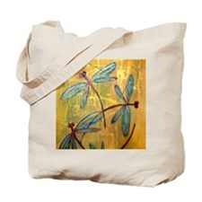 Dragonfly Haze Tote Bag