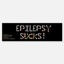 Epilepsy Sucks! Bumper Bumper Bumper Sticker