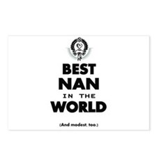 The Best in the World Best Nan Postcards (Package