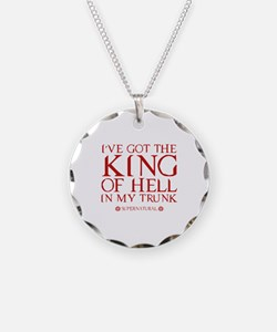 I've Got The King Of Hell In My Trunk Necklace