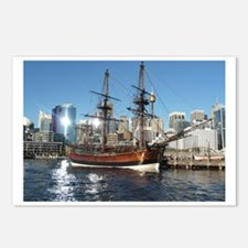 Old Ship in Darling Harbo Postcards (Package of 8)