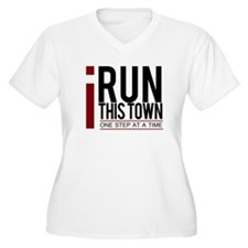I Run This Town Plus Size T-Shirt
