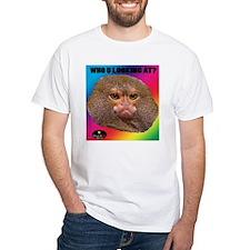 MONKEY - WHO U LOOKING AT? (Rainbow) T-Shirt