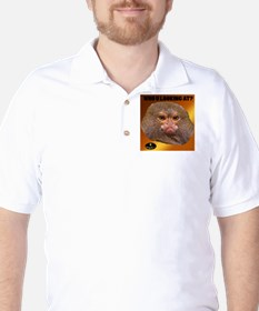 MONKEY - WHO U LOOKING AT? (Golden) T-Shirt