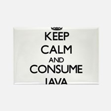Keep calm and consume Java Magnets