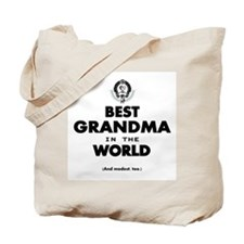 The Best in the World Best Grandma Tote Bag