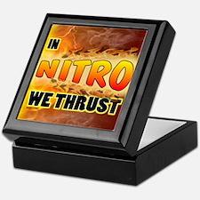 In Nitro We Thrust Keepsake Box