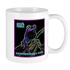 SAVE THE FROGS! Glowing Frog Mugs