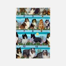 Sheltie Lovers Gifts Rectangle Magnet