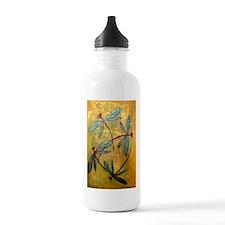 Dragonfly Haze Sports Water Bottle