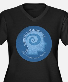 All In My Head Plus Size T-Shirt