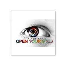 Open Your Eye Sticker