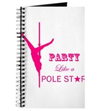 Party Like a Pole Star 2 Pink 2 Journal