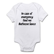 Feed me Barbecue Sauce Infant Bodysuit