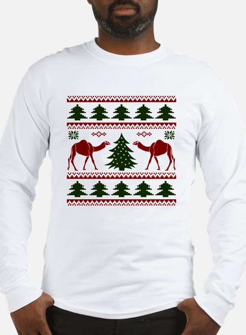 Hump Day Inspired Camel Ugly S Long Sleeve T-Shirt
