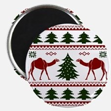 Hump Day Inspired Camel Ugly Sweater Magnet