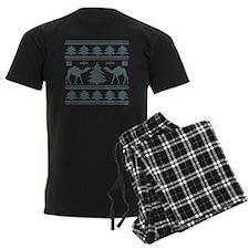Tribal Camel Ugly Sweater Pajamas