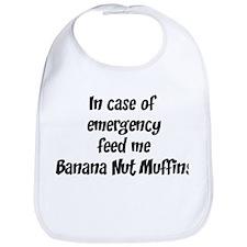 Feed me Banana Nut Muffins Bib
