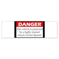attackdog_cockerspaniel Bumper Bumper Sticker