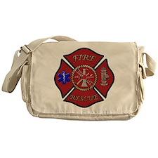 Maltese Cross Messenger Bag