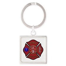 Maltese Cross Keychains