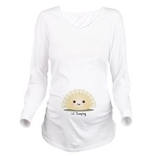 Lil' Dumpling Long Sleeve Maternity T-Shirt