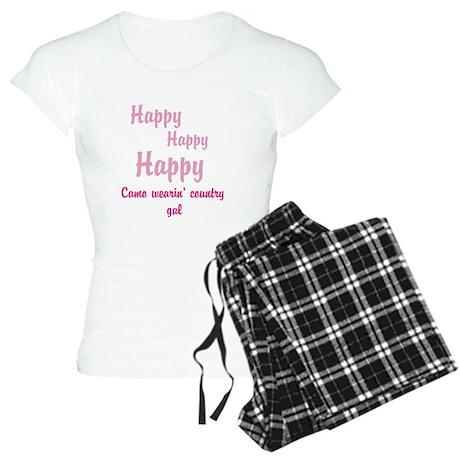camo wearing country gal Pajamas