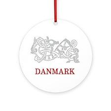 DANMARK Ornament (Round)
