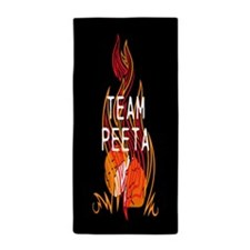 Team Peeta Baker Beach Towel