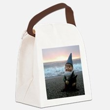 Sunset Gnome Canvas Lunch Bag