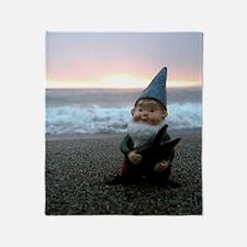 Sunset Gnome Throw Blanket