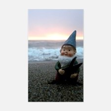 Sunset Gnome Decal