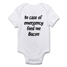 Feed me Bacon Infant Bodysuit