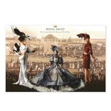 Royal Ascot  Postcards (Package of 8)