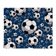 Soccer Throw Blanket