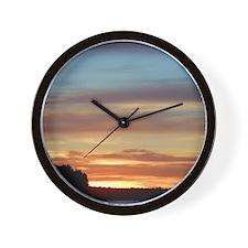 Finland Lake Summer Sunset Wall Clock