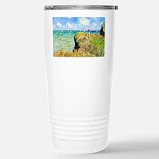Clifftop Walk at Pourvi Travel Mug