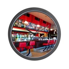 Tucson Diner Wall Clock