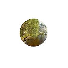 Summer Lake in Finalnd Mini Button