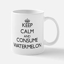 Keep calm and consume Watermelon Mugs
