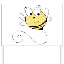Flying Bee Yard Sign